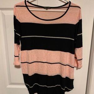 4/$30- Dynamite Striped Long Sleeve Shirt